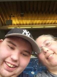 Tess attended New York Yankees vs. Boston Red Sox - MLB on Aug 17th 2021 via VetTix