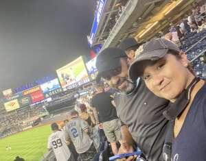 Damaris attended New York Yankees vs. Boston Red Sox - MLB on Aug 17th 2021 via VetTix