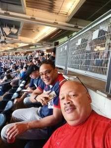 Edwin Santiago  attended New York Yankees vs. Boston Red Sox - MLB on Aug 17th 2021 via VetTix