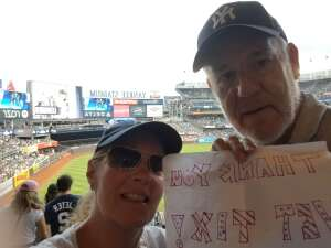 John Martin attended New York Yankees vs. Minnesota Twins - MLB on Aug 20th 2021 via VetTix