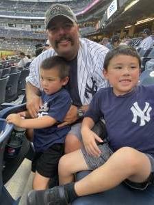 Chris attended New York Yankees vs. Minnesota Twins - MLB on Aug 20th 2021 via VetTix