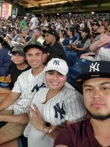 Arguimides  attended New York Yankees vs. Minnesota Twins - MLB on Aug 20th 2021 via VetTix