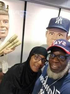 Norman Barron attended New York Yankees vs. Minnesota Twins - MLB on Aug 20th 2021 via VetTix