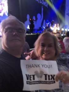 Russell D attended Brad Paisley Tour 2021 on Aug 28th 2021 via VetTix