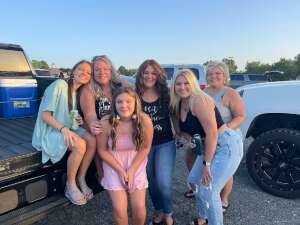 Chassidy attended Brad Paisley Tour 2021 on Aug 28th 2021 via VetTix