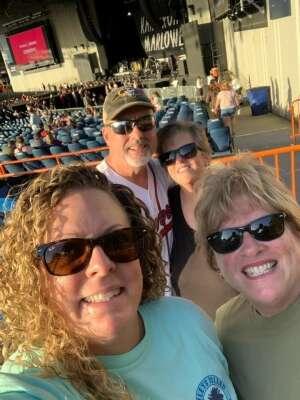 Brad attended Brad Paisley Tour 2021 on Aug 28th 2021 via VetTix