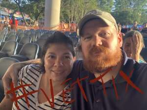 Angelica  attended Brad Paisley Tour 2021 on Aug 28th 2021 via VetTix
