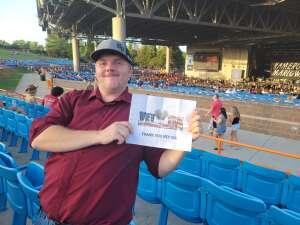 Richard attended Brad Paisley Tour 2021 on Aug 28th 2021 via VetTix