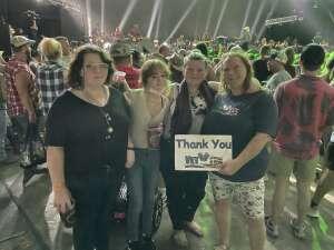 Jandy attended Brad Paisley Tour 2021 on Aug 28th 2021 via VetTix