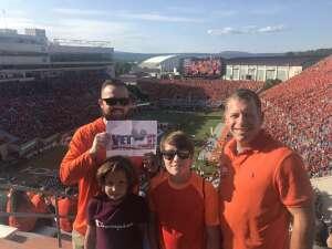 Click To Read More Feedback from Virginia Tech Hokies vs. North Carolina Tar Heels - NCAA Football