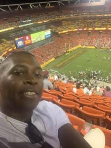 LK attended Washington Football Team vs. Cincinnati Bengals - NFL on Aug 20th 2021 via VetTix
