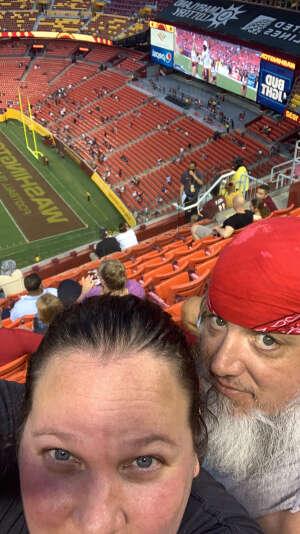 Chanel attended Washington Football Team vs. Cincinnati Bengals - NFL on Aug 20th 2021 via VetTix