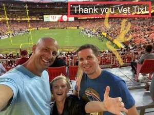 ALH attended Washington Football Team vs. Cincinnati Bengals - NFL on Aug 20th 2021 via VetTix