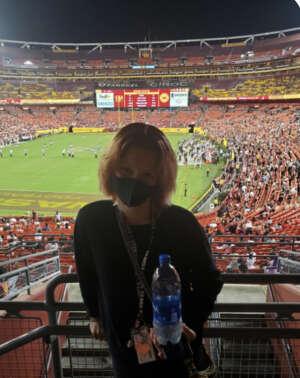 Thanks so much  attended Washington Football Team vs. Cincinnati Bengals - NFL on Aug 20th 2021 via VetTix