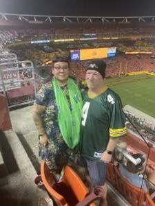 Cristina Leon Guerrero attended Washington Football Team vs. Cincinnati Bengals - NFL on Aug 20th 2021 via VetTix