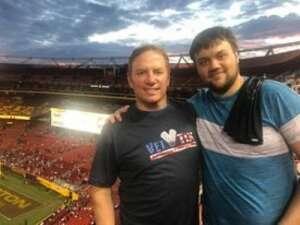 Ray Wendall attended Washington Football Team vs. Cincinnati Bengals - NFL on Aug 20th 2021 via VetTix