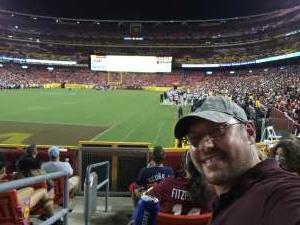 Eric attended Washington Football Team vs. Cincinnati Bengals - NFL on Aug 20th 2021 via VetTix