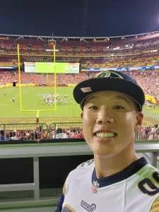 Peter attended Washington Football Team vs. Cincinnati Bengals - NFL on Aug 20th 2021 via VetTix