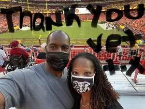A. True attended Washington Football Team vs. Cincinnati Bengals - NFL on Aug 20th 2021 via VetTix