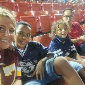 Cristy attended Washington Football Team vs. Cincinnati Bengals - NFL on Aug 20th 2021 via VetTix