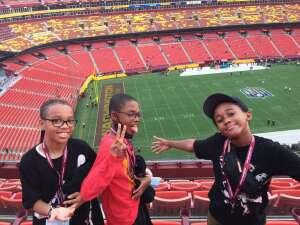 malik attended Washington Football Team vs. Cincinnati Bengals - NFL on Aug 20th 2021 via VetTix