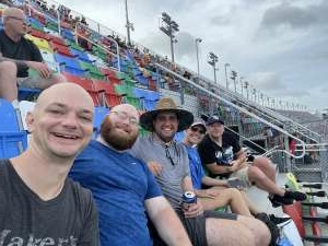 Steven attended Coke Zero Sugar 400 - NASCAR Cup Series at Daytona International Speedway on Aug 28th 2021 via VetTix