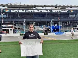 Matt Sanderson  attended Coke Zero Sugar 400 - NASCAR Cup Series at Daytona International Speedway on Aug 28th 2021 via VetTix