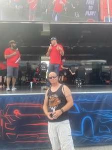 Lee attended Coke Zero Sugar 400 - NASCAR Cup Series at Daytona International Speedway on Aug 28th 2021 via VetTix