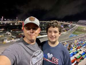 Will attended Coke Zero Sugar 400 - NASCAR Cup Series at Daytona International Speedway on Aug 28th 2021 via VetTix