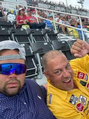 Joy attended Coke Zero Sugar 400 - NASCAR Cup Series at Daytona International Speedway on Aug 28th 2021 via VetTix