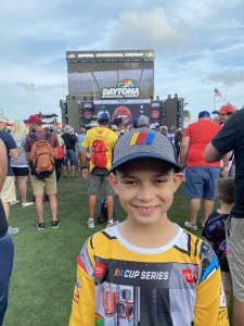 Jose Matos attended Coke Zero Sugar 400 - NASCAR Cup Series at Daytona International Speedway on Aug 28th 2021 via VetTix