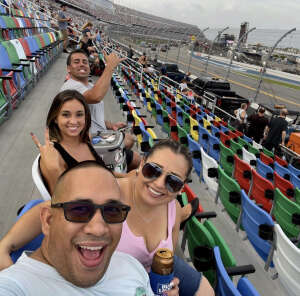 Jonathan  attended Coke Zero Sugar 400 - NASCAR Cup Series at Daytona International Speedway on Aug 28th 2021 via VetTix
