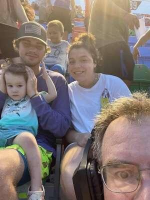 Timothy Frost attended Coke Zero Sugar 400 - NASCAR Cup Series at Daytona International Speedway on Aug 28th 2021 via VetTix