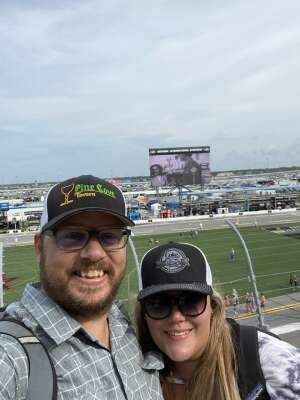 Matthew Zane attended Coke Zero Sugar 400 - NASCAR Cup Series at Daytona International Speedway on Aug 28th 2021 via VetTix