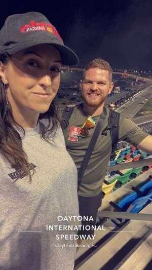 Lori Trifaro attended Coke Zero Sugar 400 - NASCAR Cup Series at Daytona International Speedway on Aug 28th 2021 via VetTix