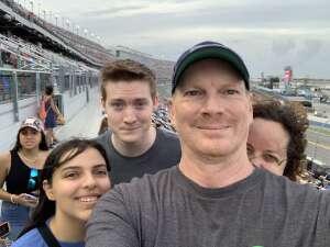 Brian attended Coke Zero Sugar 400 - NASCAR Cup Series at Daytona International Speedway on Aug 28th 2021 via VetTix