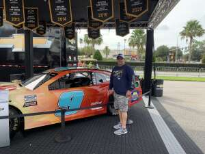 Gary Maki attended Coke Zero Sugar 400 - NASCAR Cup Series at Daytona International Speedway on Aug 28th 2021 via VetTix