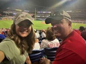 Joe N. attended Philadelphia Phillies vs. Arizona Diamondbacks - MLB on Aug 26th 2021 via VetTix
