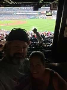 Tim attended Philadelphia Phillies vs. Arizona Diamondbacks - MLB on Aug 26th 2021 via VetTix