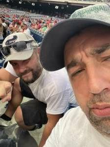 Billy attended Philadelphia Phillies vs. Arizona Diamondbacks - MLB on Aug 26th 2021 via VetTix