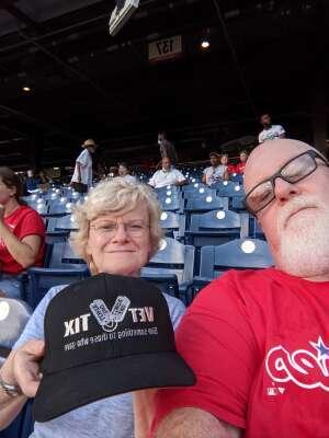 KenW attended Philadelphia Phillies vs. Arizona Diamondbacks - MLB on Aug 26th 2021 via VetTix