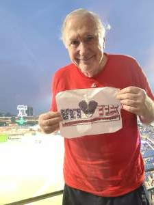 Stephen  attended Philadelphia Phillies vs. Arizona Diamondbacks - MLB on Aug 26th 2021 via VetTix