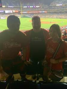 Chris S attended Philadelphia Phillies vs. Arizona Diamondbacks - MLB on Aug 26th 2021 via VetTix
