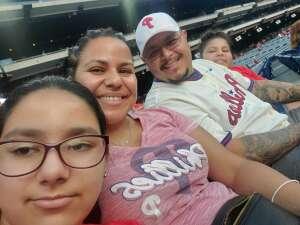 Moe attended Philadelphia Phillies vs. Arizona Diamondbacks - MLB on Aug 26th 2021 via VetTix