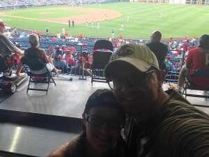 Monty Philly attended Philadelphia Phillies vs. Arizona Diamondbacks - MLB on Aug 26th 2021 via VetTix