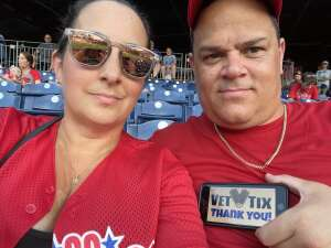 Anthony Keller attended Philadelphia Phillies vs. Arizona Diamondbacks - MLB on Aug 26th 2021 via VetTix