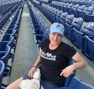 Stephanie  attended Philadelphia Phillies vs. Arizona Diamondbacks - MLB on Aug 26th 2021 via VetTix
