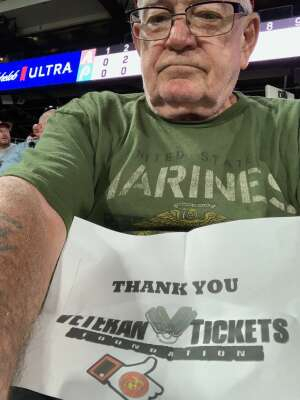 Robert  attended Philadelphia Phillies vs. Arizona Diamondbacks - MLB on Aug 26th 2021 via VetTix