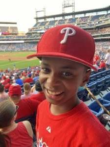 Kay attended Philadelphia Phillies vs. Arizona Diamondbacks - MLB on Aug 26th 2021 via VetTix