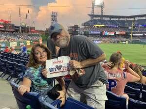 Bob attended Philadelphia Phillies vs. Arizona Diamondbacks - MLB on Aug 26th 2021 via VetTix